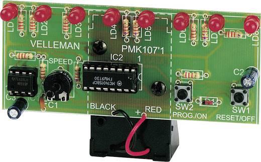 Lauflicht Bausatz Velleman MK107 Ausführung (Bausatz/Baustein): Bausatz 9 V/DC
