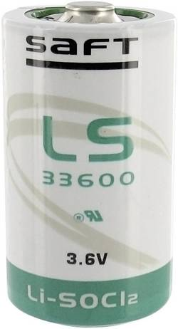 Pile LR20 LR20 (D) lithium Saft LS33600PP 3.6 V 16500 mAh 1 pc(s)