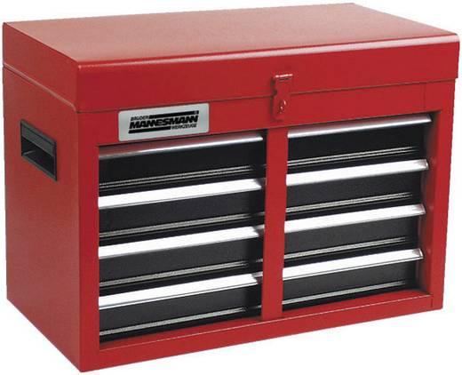 Brüder Mannesmann 28261 Werkzeugkasten bestückt Rot