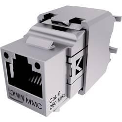 connecteur rj45 connecteur femelle encastrable m tal 8 8 cat 6 mmc bc6fs. Black Bedroom Furniture Sets. Home Design Ideas