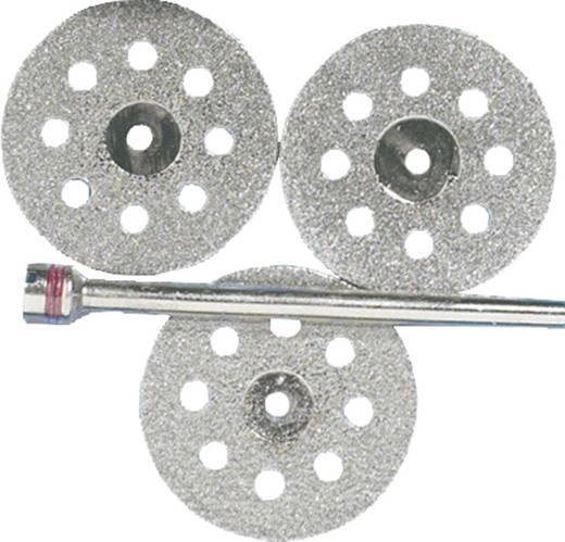Diamant-Trennscheiben-Satz 3tlg. Durchmesser 22 mm 2,35 mm 1 Set