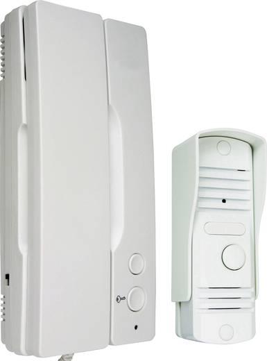 Türsprechanlage Kabelgebunden Komplett-Set Smartwares IB11 1 Familienhaus Weiß