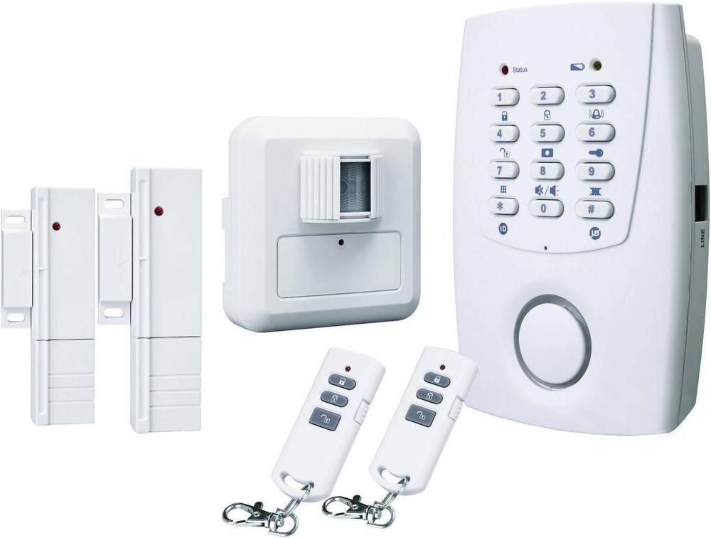 alarme maison sans fil conrad