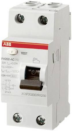Interrupteur différentiel ABB 30MA-25A