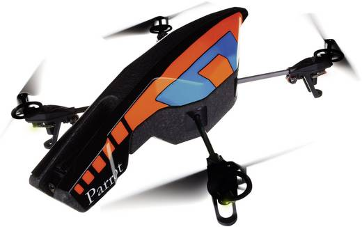 Parrot AR.Drone Quadrocopter RtF Kameraflug