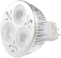 Ampoule LED GU5.3 LADY Light MR16-3X2BC45C0 à broches 3 W=15 W blanc chaud EEC: classe A 1 pc(s)