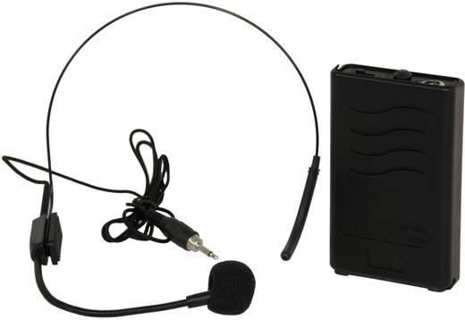 Mobiler PA Lautsprecher 38 cm 15 Zoll Ibiza Sound PORT15VHF Bluetooth 1 St.