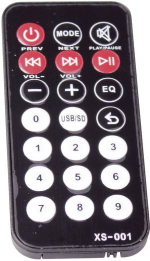 Mobiler PA Lautsprecher 30 cm 12 Zoll Ibiza Sound PORT12VHF Bluetooth 1 St.