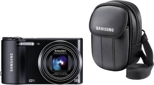 Digitalkamera Samsung WB150F + étui Samsung EA-PCC9U11B 14.0 Mio. Pixel Schwarz