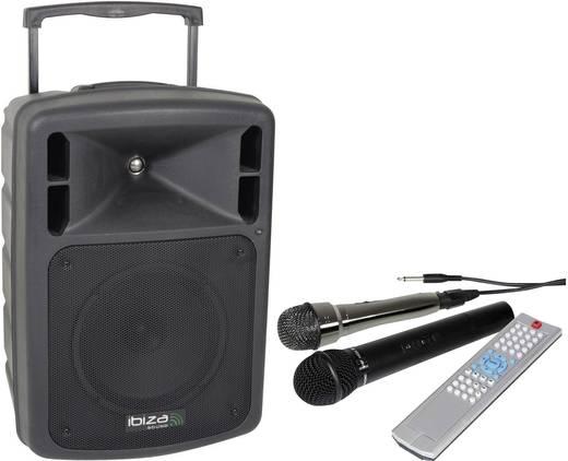 Mobiler PA Lautsprecher 25 cm 10 Zoll Ibiza Sound PORT10CD-VHF 1 St.