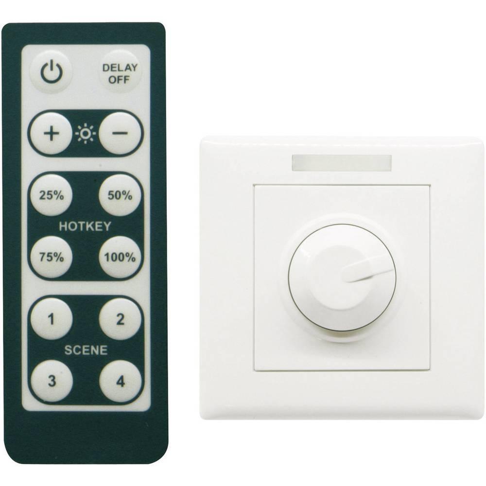 variateur led et t l commande l x h 87 mm x 87 mm 1 l 39 ens. Black Bedroom Furniture Sets. Home Design Ideas