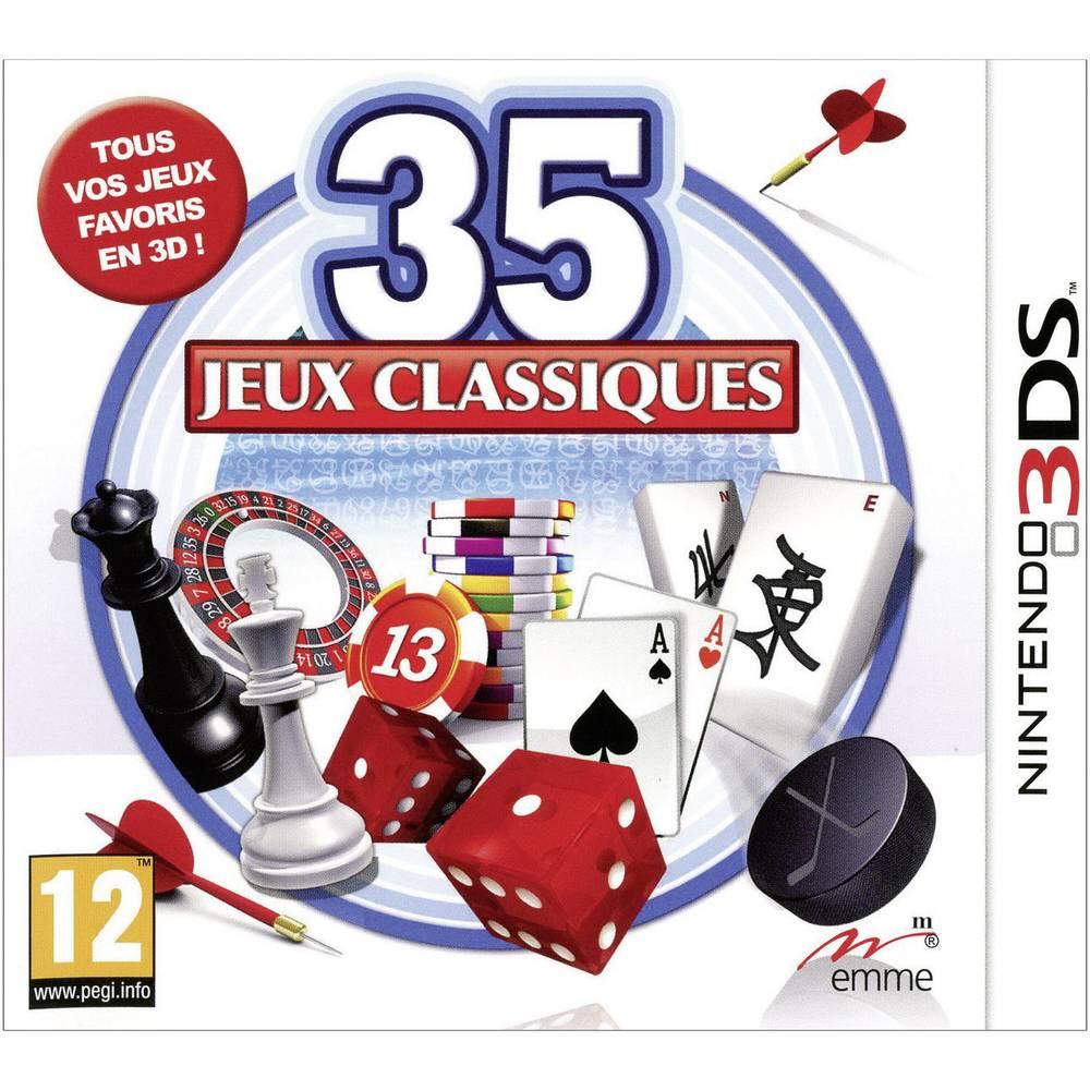 jeux nintendo 3ds 35 jeux classiques. Black Bedroom Furniture Sets. Home Design Ideas