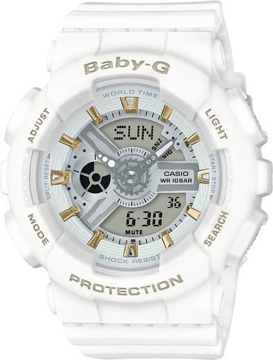 Armbanduhr analog, digital Casio BA-110GA-7A1ER Luxweiß