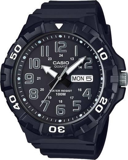 Armbanduhr analog Casio MRW-210H-1AVEF Schwarz-Grau