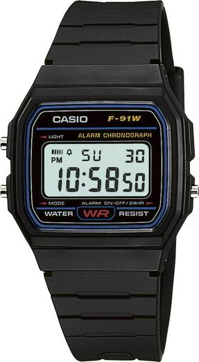 Armbanduhr digital Casio F-91W-1YEF