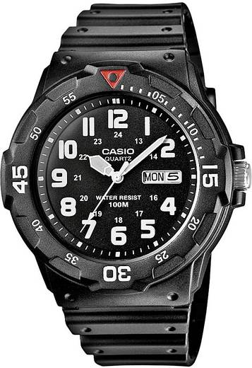 Armbanduhr analog Casio MRW-200H-1BVEF Schwarz