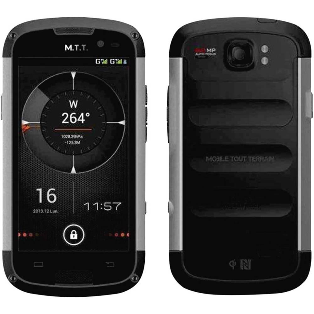 smartphone outdoor 11 4 cm 4 5 pouces m t t master 4 go noir. Black Bedroom Furniture Sets. Home Design Ideas