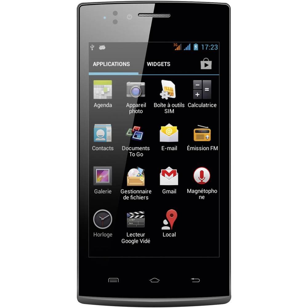 smartphone double sim inovalley gsm40 4 pouces 10 2 cm android 4 4 noir. Black Bedroom Furniture Sets. Home Design Ideas