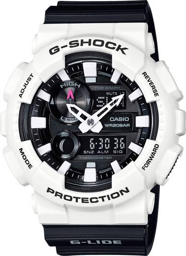 Armbanduhr analog, digital Casio GAX-100B-7AER Luxweiß