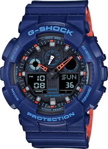Armbanduhr analog, digital Casio GA-100L-2AER Blau