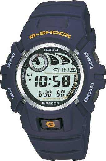 Armbanduhr digital Casio G-2900F-2VER Blau