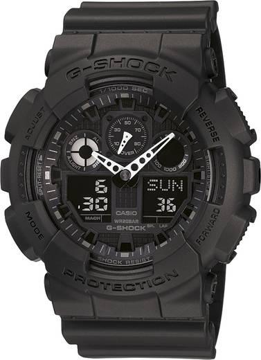 Armbanduhr analog, digital Casio GA-100-1A1ER Schwarz