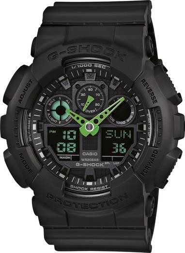 Casio Armbanduhr GA-100C-1A3ER (B x H) 51.2 mm x 55 mm Black Gehäusematerial=Kunstharz Material (Armband)=Kunstharz