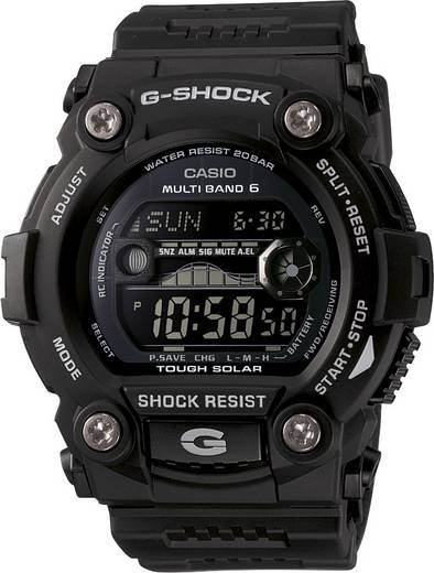 Armbanduhr GW-7900B-1ER (B x H) 50 mm x 52.40 mm Schwarz Gehäusematerial=Kunstharz Material (Armband)=Kunstharz Casio