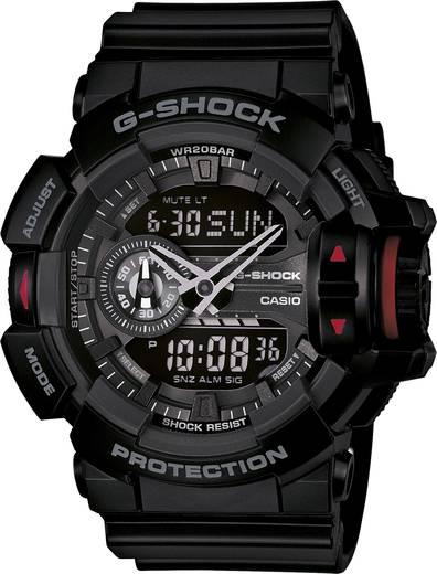Casio Armbanduhr GA-400-1BER (B x H) 51.9 mm x 55 mm Black Gehäusematerial=Kunstharz Material (Armband)=Kunstharz