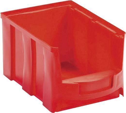 Lagersichtbox (L x B x H) 233 x 154 x 125 mm Rot VISO STAR3R STAR3R 1 St.