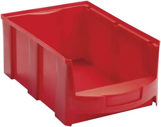 VISO LF-Kasten STAR4LR Rot Volumen: 14 l 419 mm x 260 mm x 165 mm