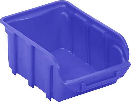 Lagersichtbox (L x B x H) 160 x 100 x 70 mm Blau VISO TEKNI2B TEKNI2B 1 St.