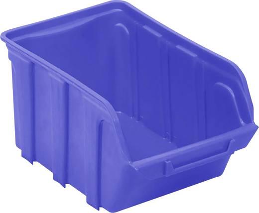 Lagersichtbox (L x B x H) 230 x 140 x 125 mm Blau VISO TEKNI3B TEKNI3B 1 St.