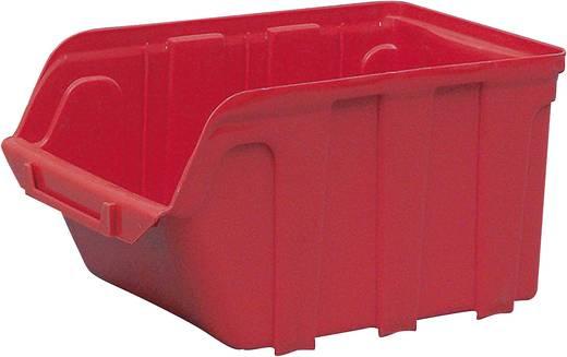 Lagersichtbox (L x B x H) 230 x 140 x 125 mm Rot VISO TEKNI3R TEKNI3R 1 St.