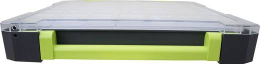 Sortimentskoffer (L x B x H) 275 x 70 x 325 mm VISO Anzahl Fächer: 10 feste Unterteilung