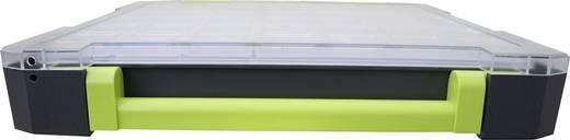 Sortimentskoffer (L x B x H) 275 x 70 x 325 mm VISO W185-10 Anzahl Fächer: 10 feste Unterteilung
