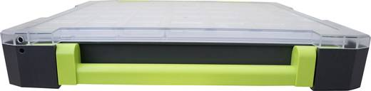 Sortimentskoffer (L x B x H) 375 x 70 x 425 mm VISO W385-21 Anzahl Fächer: 21 feste Unterteilung
