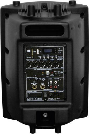 Ibiza Sound PORT8VHF-BT Mobiler Lautsprecher 20 cm 8 Zoll akkubetrieben, netzbetrieben 1 St.