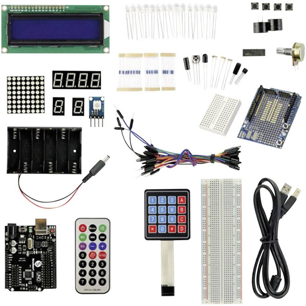 Kit de demarrage pour projets arduino dvar skit conrad