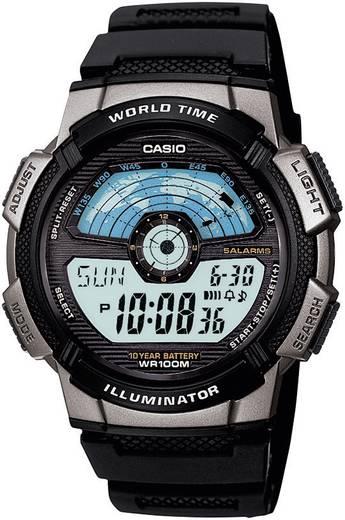 Casio Quarz AE-1100W-1AVEF Schwarz, Silber Gehäusematerial=Kunststoff