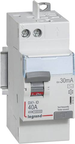 Interrupteur différentiel Legrand LEG 411632 40 A Type=AC Vis/Auto