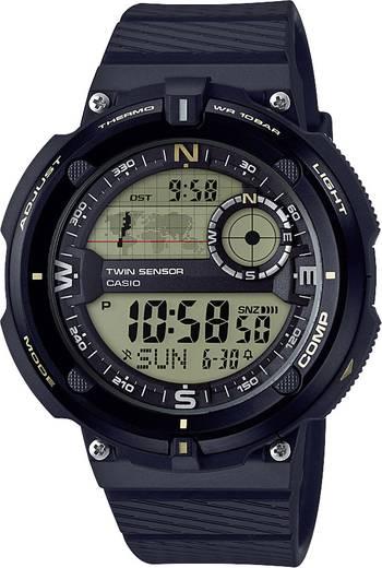 Casio Quarz Armbanduhr SGW-600H-9AER (L x B x H) 50.6 x 45 x 12.8 mm Schwarz, Gold Gehäusematerial=Resin Material (Armba
