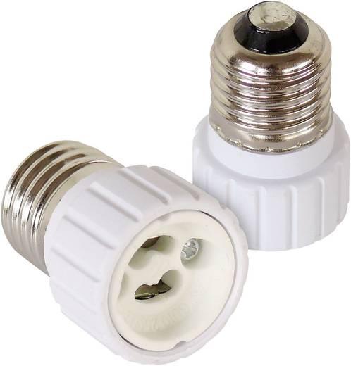 Lampenfassung-Adapter E27 auf GU10 2er Set 206866 230 V 100 W
