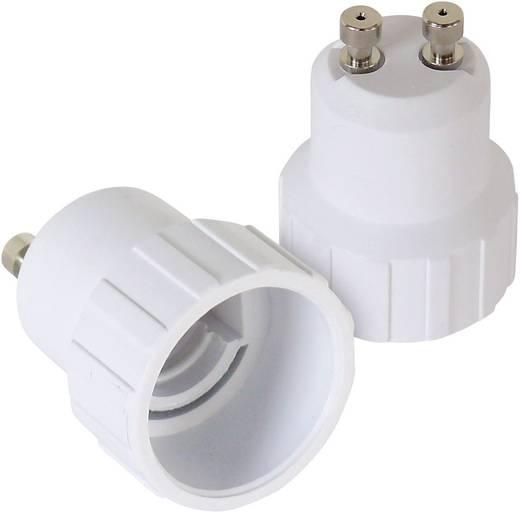 Lampenfassung-Adapter GU10 auf E14 2er Set 206867 230 V 100 W