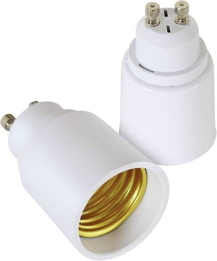 Lampenfassung-Adapter GU10 auf E27 2er Set 206868 230 V 100 W