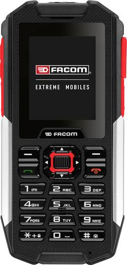 Téléphone portable outdoor 2 pouces Facom F100 noir/rouge