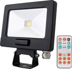 Projecteur LED extérieur Lumihome SLIM-10DE 10 W noir