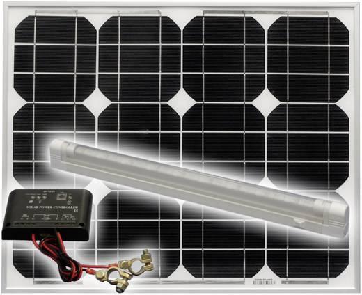 30 Watt Solarstrom Set mit Leuchte