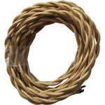 Câble textile torsadé 3 m 073930 or set de 2