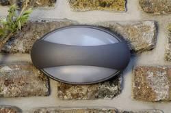 Applique murale LED extérieure ECO-Light Eyes 1861 GR LED intégrée anthracite